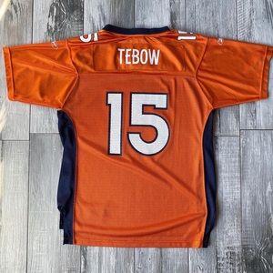 Reebok Denver Broncos Tim Tebow #15 Youth Jersey